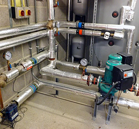 Commercial heating at Bournemouth School for boys